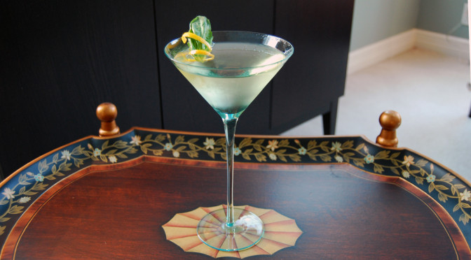 cinzano bianco vermouth vodka basil martini feature