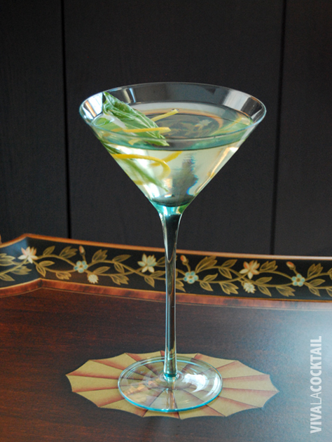 cinzano bianco vermouth vodka basil martini Cinzano Basil Martini